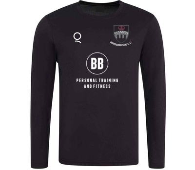 Kingsbridge CC Long Sleeve Training Shirt Black
