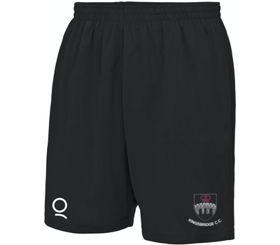 Kingsbridge CC Black Training Shorts