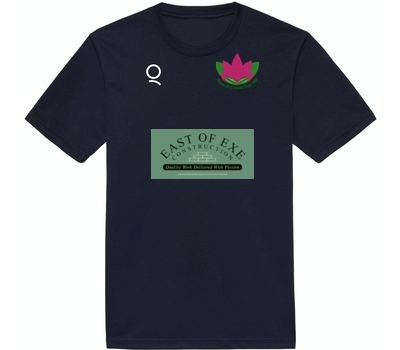 Qdos Cricket Exmouth CC Training Shirt Navy