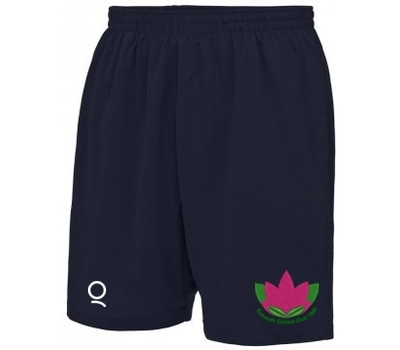 Qdos Cricket Exmouth CC Training Shorts Navy