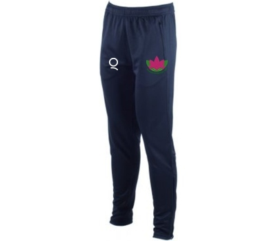 Qdos Cricket Exmouth CC Navy Slim Leg Training Pants