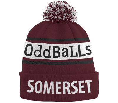 Somerset County Cricket C Somerset CCC Oddballs Bobble Hat