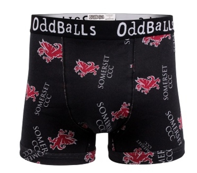 Somerset County Cricket C Somerset CCC Oddballs Boxer shorts