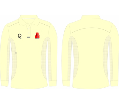 Qdos Cricket Paignton CC Playing Shirt Long Sleeve