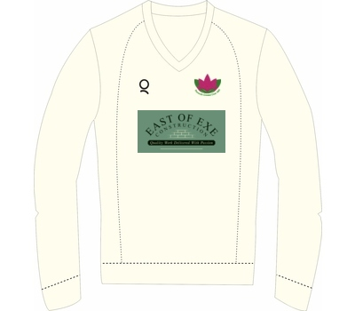 Qdos Cricket Exmouth CC Long Sleeved Fleece Jumper