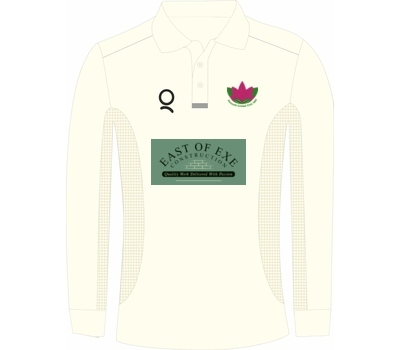 Qdos Cricket Exmouth CC Playing Shirt Long Sleeve
