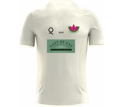 Qdos Cricket Exmouth CC Playing Shirt Short Sleeve