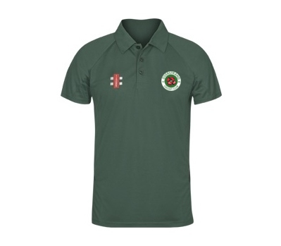 Gray Nicolls Overstrand CC Green Polo Shirt