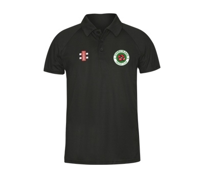 Gray Nicolls Overstrand CC Black Polo Shirt