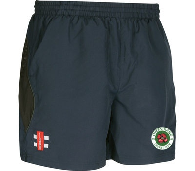 Gray Nicolls Overstrand CC Black Training Shorts