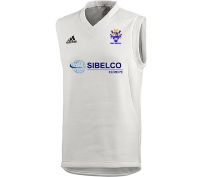 Adidas Bovey Tracey CC Adidas Sleeveless Cricket Sweater