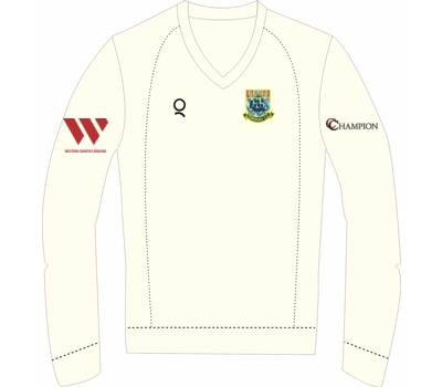 Qdos Cricket Torquay CC Clothing Qdos Long Sleeved Fleece Jumper