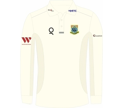 Qdos Cricket Torquay CC Clothing Qdos Playing Shirt Long Sleeve