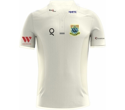 Qdos Cricket Torquay CC Clothing Qdos Playing Shirt Short Sleeve