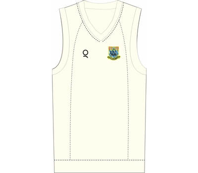 Qdos Cricket Torquay CC Clothing Qdos Slipover Fleece Jumper